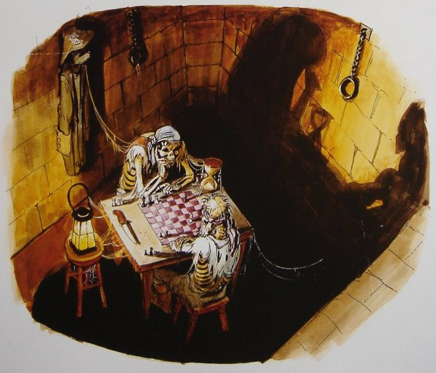 0 MARC DAVIS PIRATES OF THE CARIBBEAN CHESS CONCEPT ART