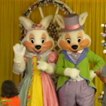 Mr. and Mrs. Bunny Meet and Greet at the Magic Kingdom