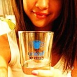 Selena Gomez is seen endorsing UNICEF Tap Project