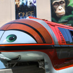 Cars Takes Over the Disneyland Monorails, to Advertise Carsland