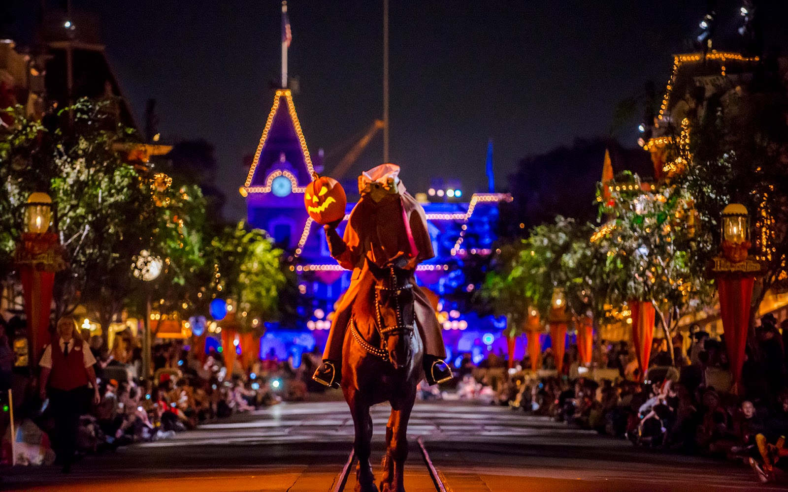 Headless Horseman in Disneyland