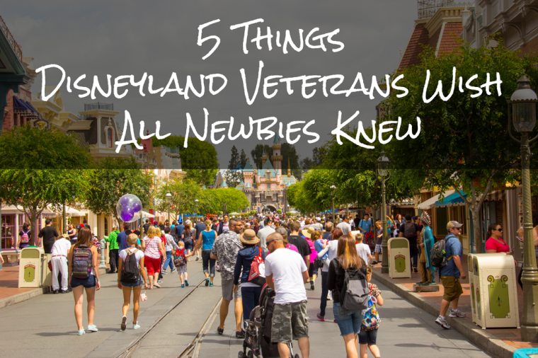 5 things disneyland veterans wish all newbies knew