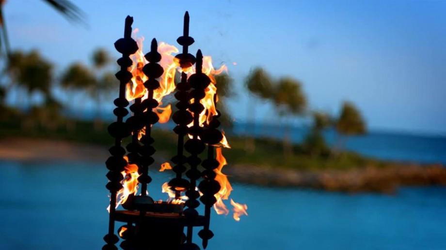 Aulani Tiki Torch
