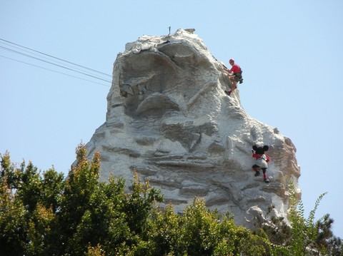 Matterhorn climbers - including a certain mouse.