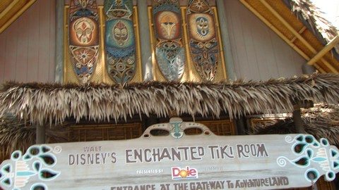 Both Disneyland and WDW have an Enchanted Tiki Room. The Disneyland version still has the old management.