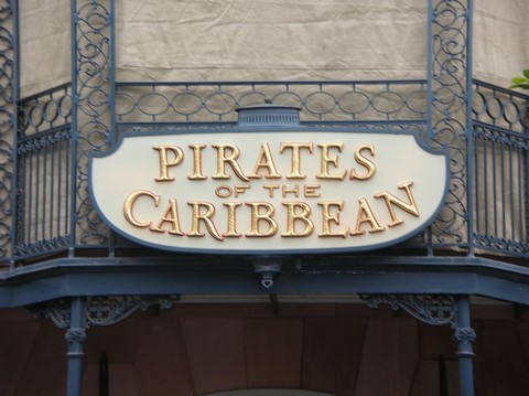 Pirates of the Caribbean? The Disneyland version is just plain better.