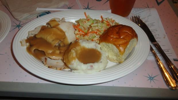 Flo's Turkey Dinner