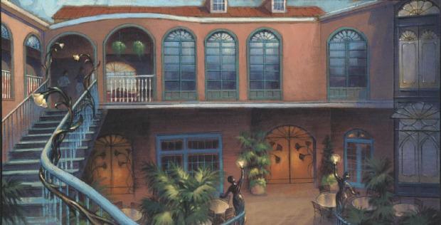 Inside Exclusive Disneyland Club 33 And 1901 Club Dd017