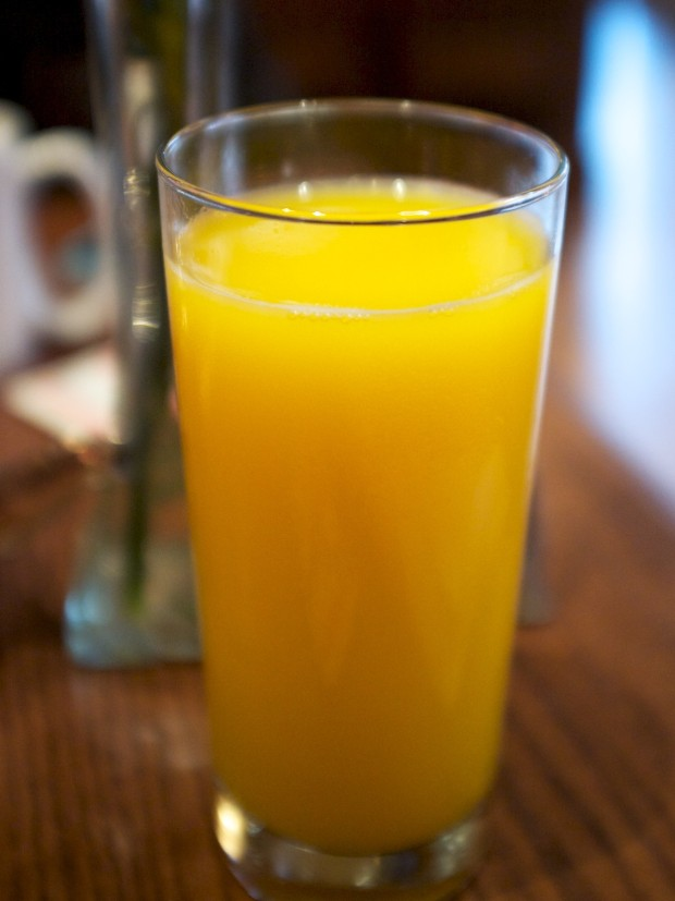 Carnation Cafe Orange Juice (2013)