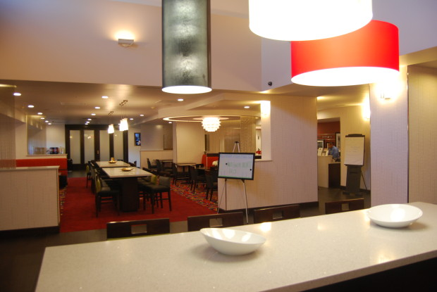 Hampton Inn Suites Los Angeles/Anaheim-Garden Grove lobby and review