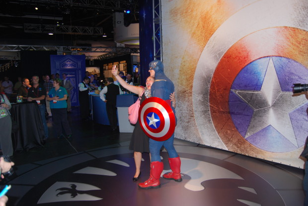 captain america meet and greet d23 expo imagineering pavilion