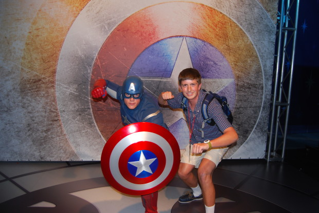captain america at 2013 d23 expo
