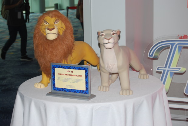 d23 expo  silent auction mufasa and sabari