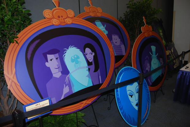 SHAG Haunted Mansion items from D23 expo  2013 silent auction