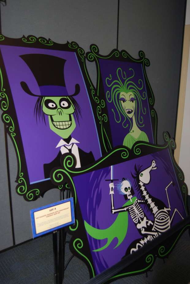 Haunted Mansion portraits by SHAG