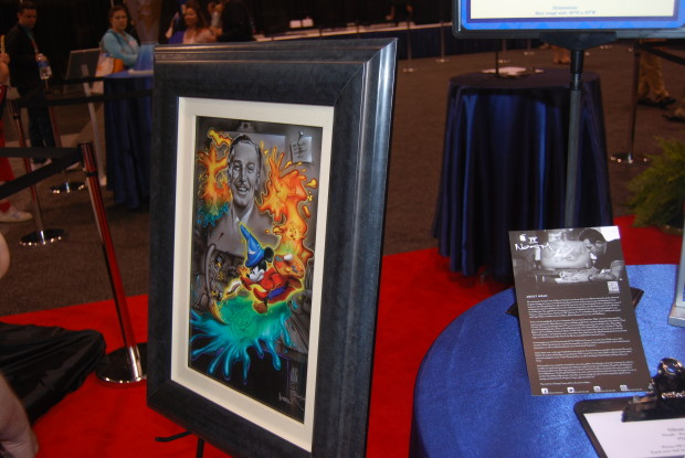 shag walt disney artwork from 2011 d23 expo