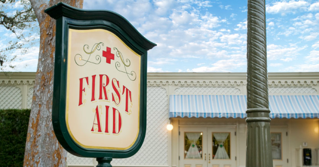 Disneyland first aid station