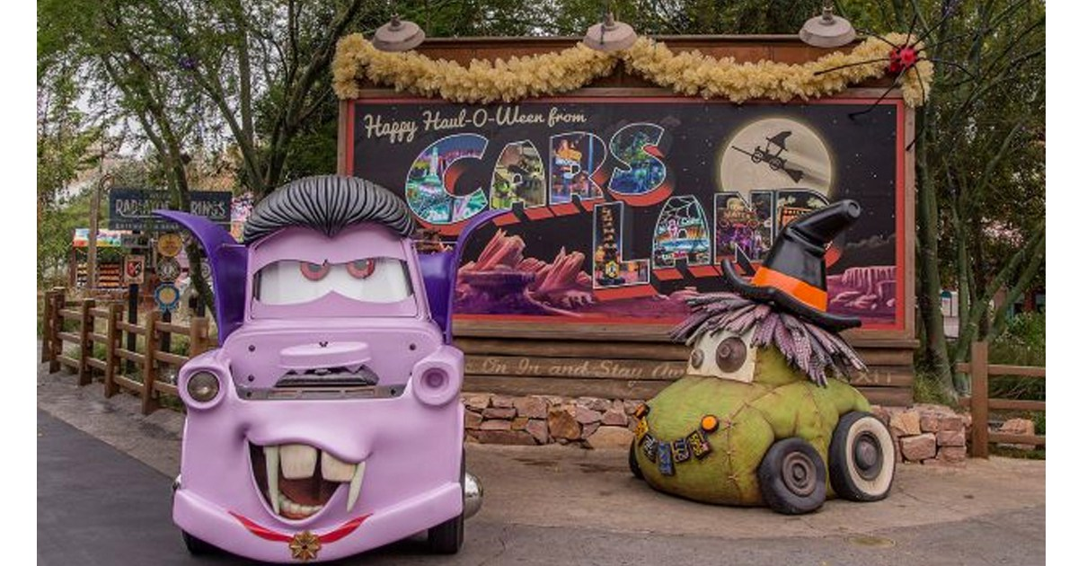 Cars Land Halloween Disneyland costumes