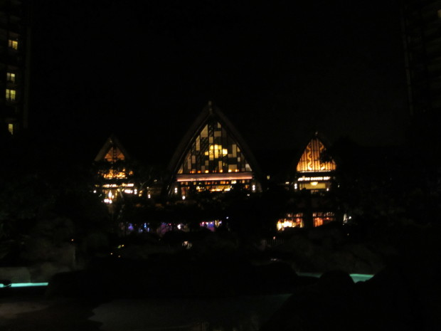 aulani-resort-facade-nightitme