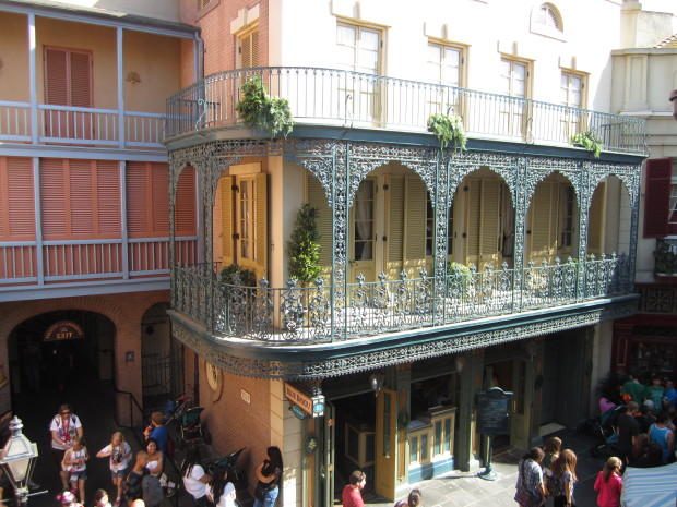 view from club 33