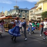 Main Street Trolley Show at Walt Disney World's Magic Kingdom