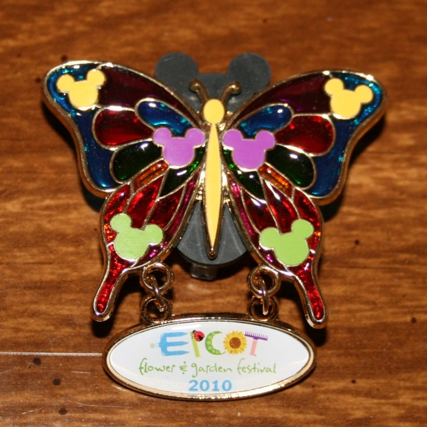 Pin EPCOT Butterfly +