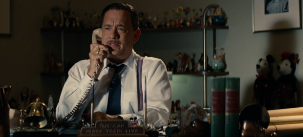 tom hanks as walt disney on the phone