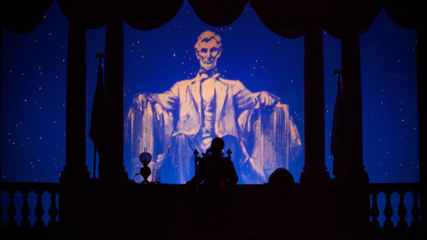abraham lincoln disneyland great moments