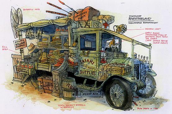 adventureland indiana jones truck