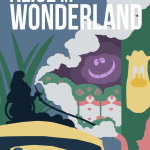 Ten Disneyland Minimalist Posters Insipired By Classic Dark Rides