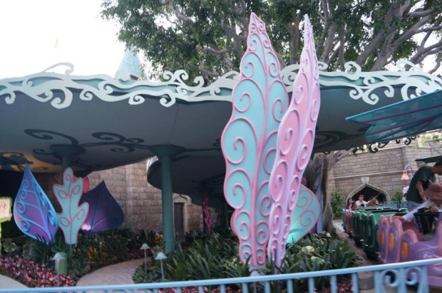 alice in wonderland exterior new ride vehicles