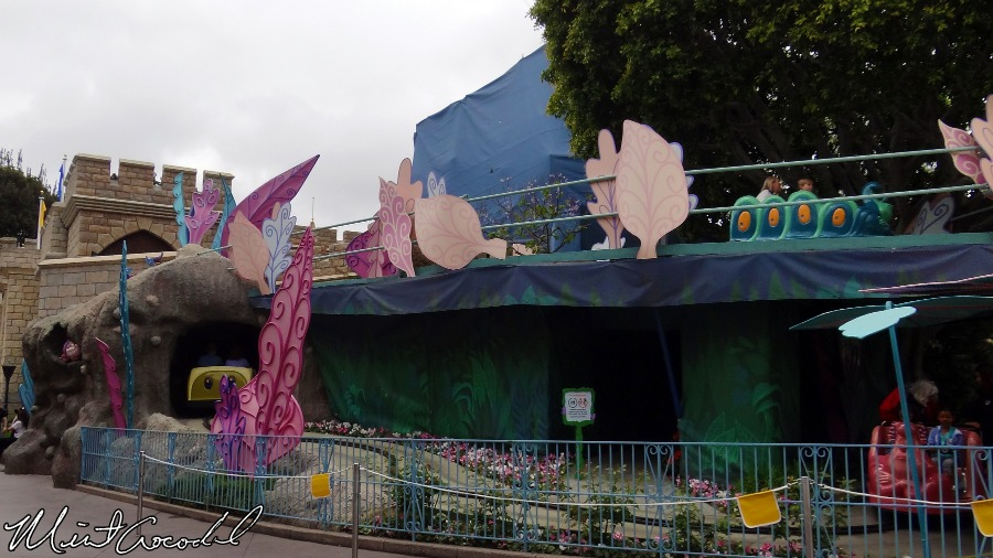 alice in wonderland scaffolding