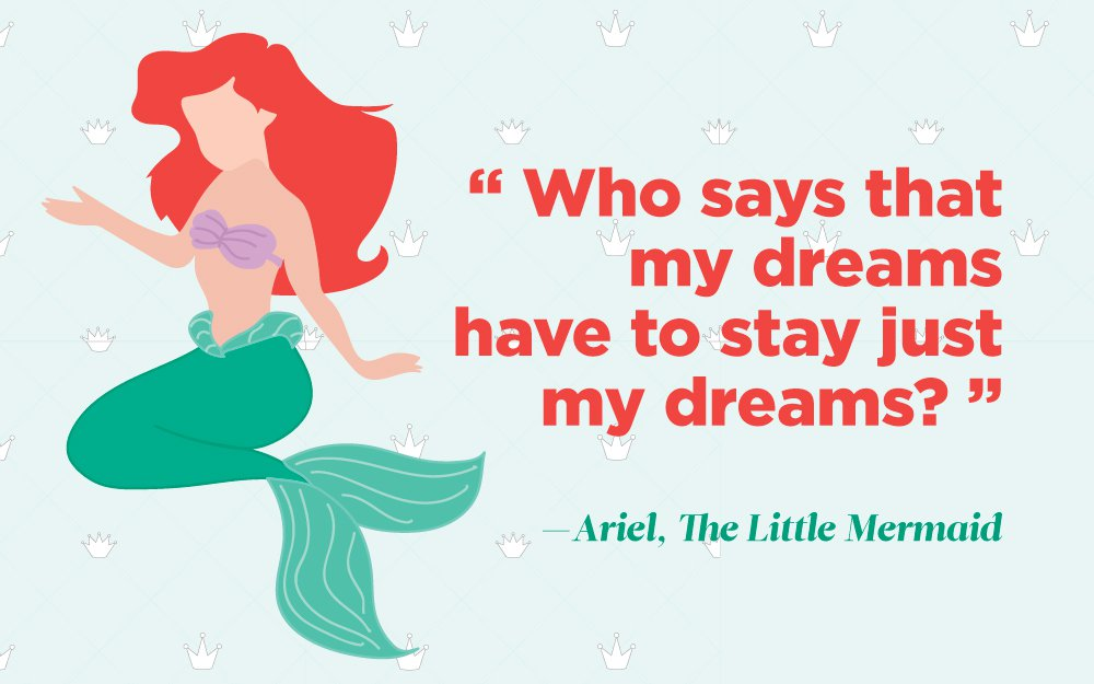 top inspiring quotes from your favorite disney princesses