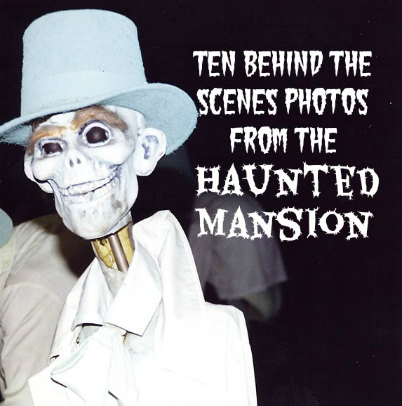 behind the scenes haunted mansion photos