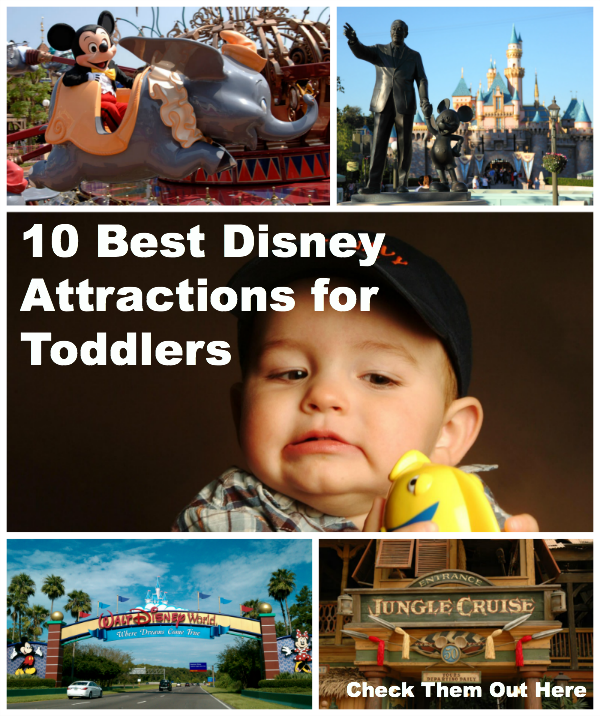 best disney attractions for toddlers