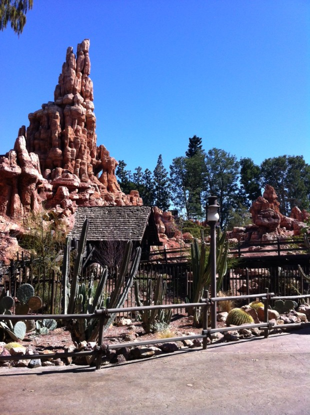 big thunder mountain disneyland