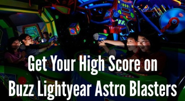 buzz lightyear astro blasters high score