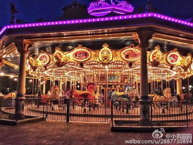 carousel shanghai disneyland
