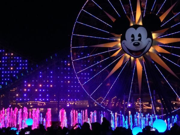 carthay circle world of color menu review disneyland