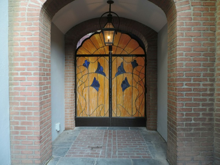 The new entrance to the Court of Angels.