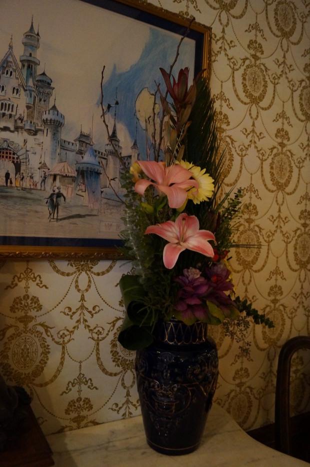 club 33 disneyland castle original painting