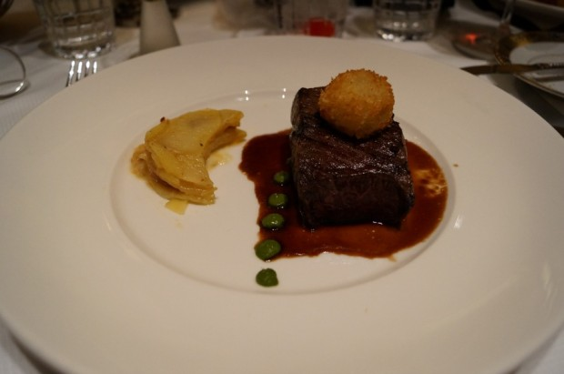 club 33 filet minon new menu