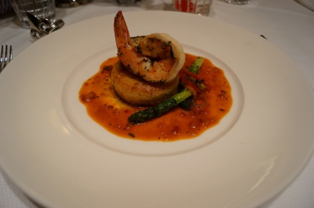 club 33 grilled scallop diver new menu
