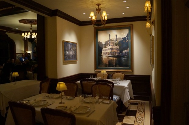 club 33 new dining room mark twain painting