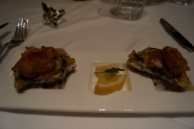 club 33 oysters new menu
