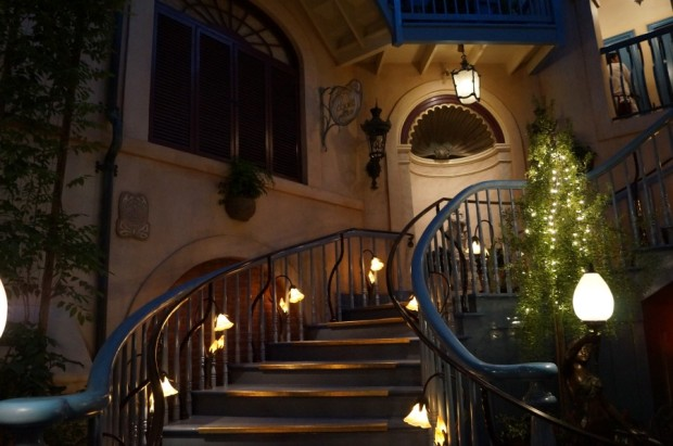 club 33 renovated court of angels stairs
