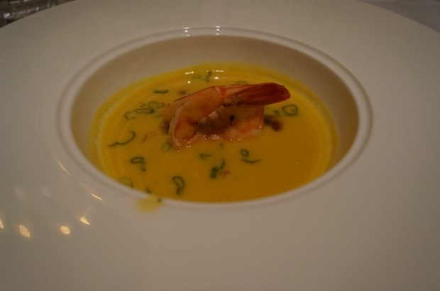 club 33 summer corn broth new menu