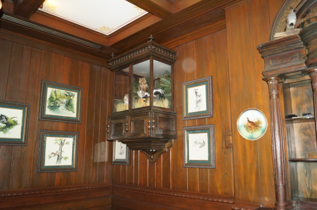 club 33 trophy room display case