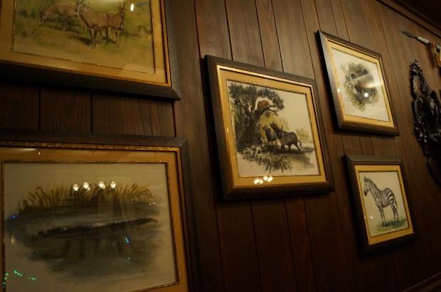 club 33 trophy room paintings