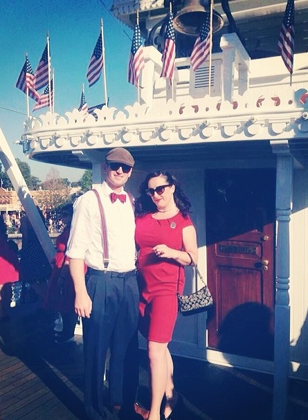 dapper day disneyland mark twain 2014
